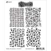 "Graphic Backgrounds - Dyan Reaveley's Dylusions Cling Stamp Collections 8.5""X7"""