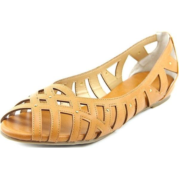 Thalia Sodi Zuly Women Peep-Toe Synthetic Flats