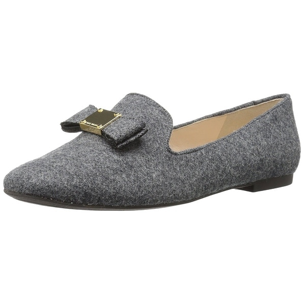 Cole Haan Women's Tali Bow Loafer, Gray Flannel, Size 10.0