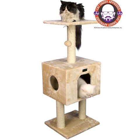 Armarkat 42-inch Condo Cat Tree Scratcher