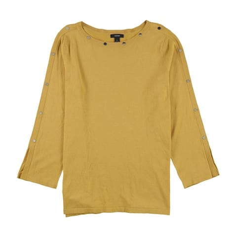 Alfani Womens Embellished Pullover Sweater