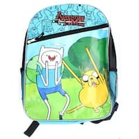 Adventure Time With Finn And Jake Zipper Backpack - Multi
