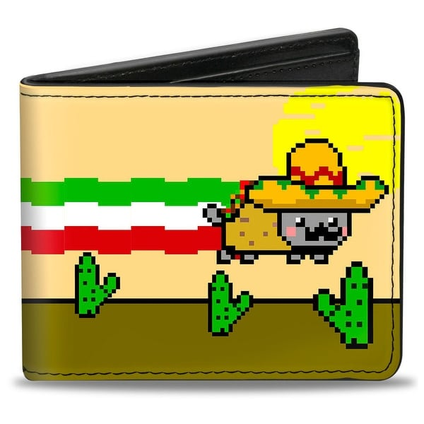 Taco Nyan Cat Bi Fold Wallet - One Size Fits most