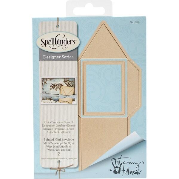 Spellbinders Shapeabilities Dies-Pointed Mini Envelope