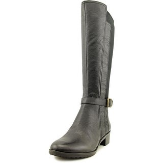 Naturalizer Mint Women WW Round Toe Leather Mid Calf Boot