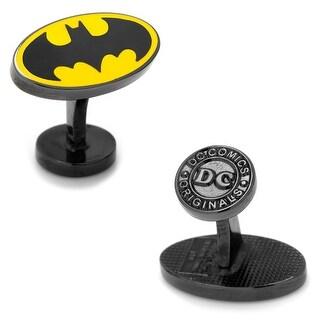 DC Licensed Transparent Enamel Batman Cufflinks