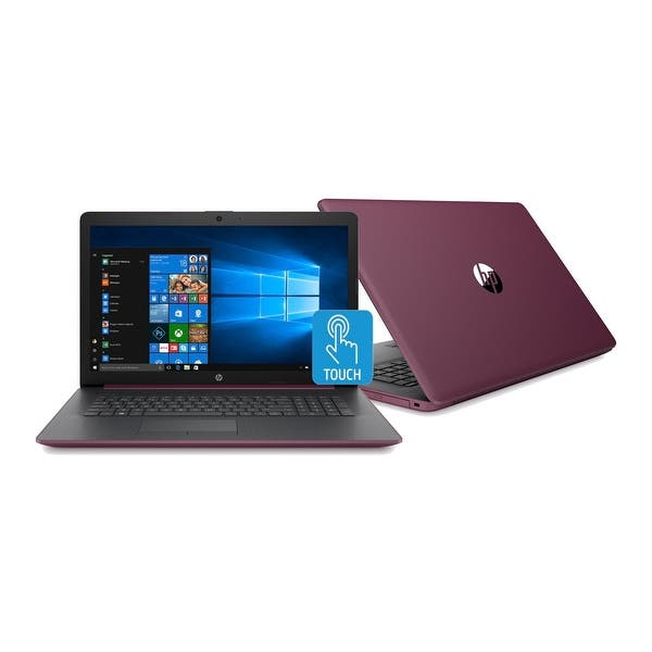 Shop Hp 15 Db1009 15 6 Touch Wled Laptop Amd Ryzen 5 8gb 1tb Refurbished Berry Mauve Overstock 30770129