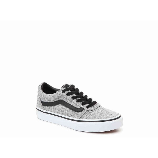 e8827809b441ae Shop Kids Vans Boys ward gs Fabric Low Top Lace Up Basketball Shoes - 7 M  US Youth - Free Shipping Today - Overstock - 27543409