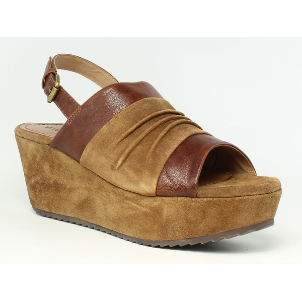 2d5aaac349a Trask Womens 36-0970-215 TeakItalianSuede teakItalianWashedSheepskin Sandals