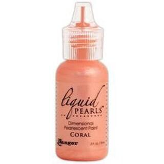 Liquid Pearls Glue .5Oz-Coral