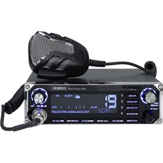 Uniden BearTracker 885 Hybrid CB Radio / Digital Scanner with BearTracker Warning System