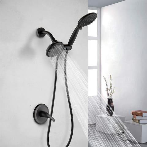 Proox 6 Sprayer Rainfall shower Faucet System Handheld Shower Combo Set