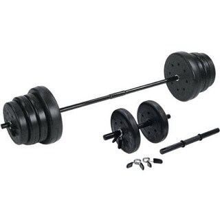The Step F0105E Traditional Weight Set With Dumbbells - 105 lbs.
