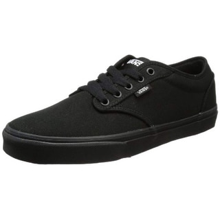 649ce96e4651 Black Vans Men s Shoes