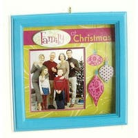 Carlton Cards Heirloom Family & Friends Picture Frame Christmas Ornament - multi