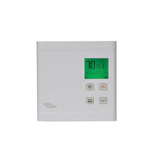 White Rodgers BP150 Programmable Touch Screen Thermostat, White