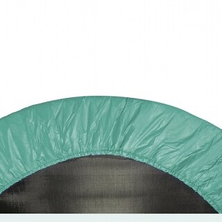 Upper Bounce UBPAD-40-G 40 in. Round Trampoline Safety Pad - Spring Cover for 6 Legs - Green