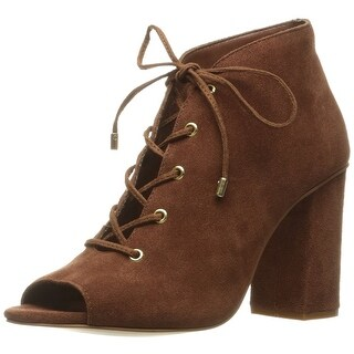 Very Volatile Women's Wishful Ankle Bootie, Rust, Size 9.0