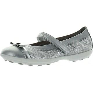 Geox Girls Jodie C Fashion Sport Flats Shoes