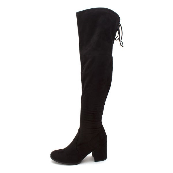 Unisa Womens dedr ll Closed Toe Knee High Fashion Boots, Black, Size 9.0