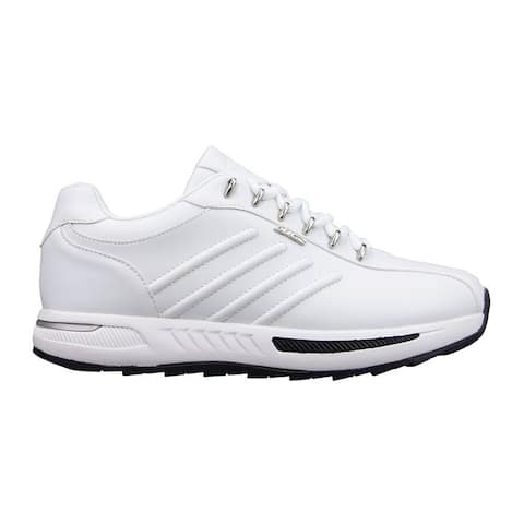 Lugz Phoenix Lace Up Mens Sneakers Shoes Casual - White