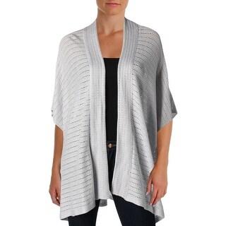 Lauren Ralph Lauren Womens Cardigan Sweater Open Front Angel Sleeves