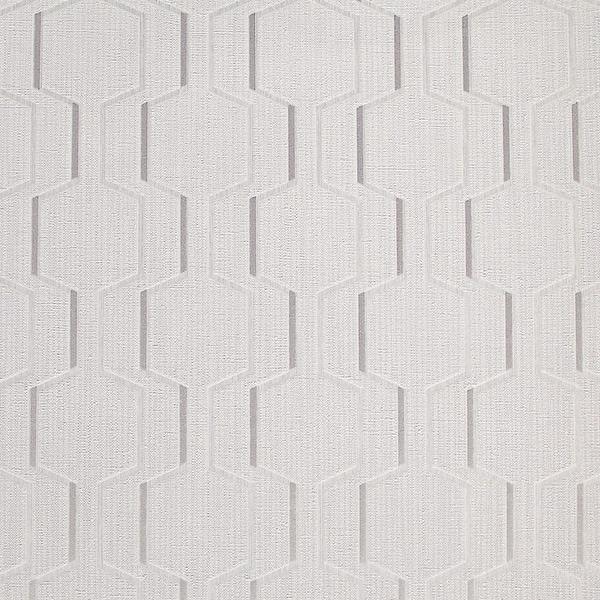 Brewster 2603-20927 Harrison Grey Rectangular Geo Wallpaper - grey rectangular