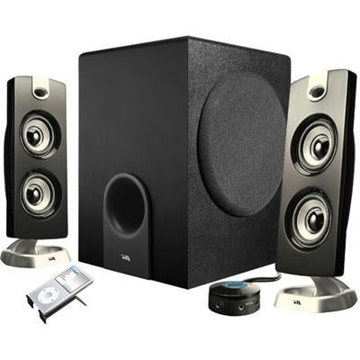 Cyber Acoustics Ca-3602 Perfect 2.1 Gaming And Multimedia Pc Speakers System 30W