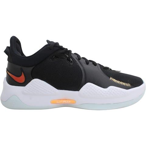 Nike PG 5 Black/White/Barely Green/Multi-Color CW3143-001 Men's