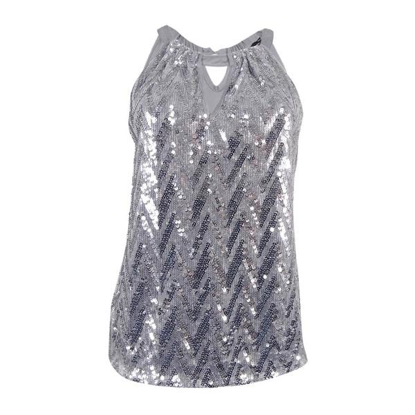 937ab387a8dc3 Shop INC International Concepts Women s Sequin Halter Top (XXL ...