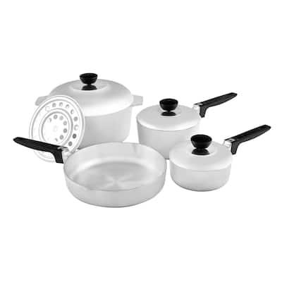IMUSA IMU-89304 8-Piece Cajun Cookware Set, Aluminum - 8 Piece