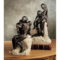 Design Toscano  The Rodin Collection: The Kiss and Ashore