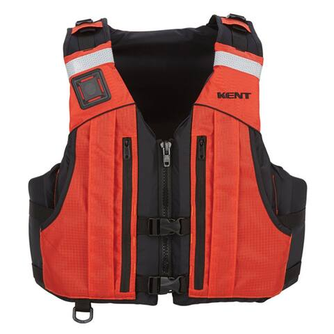 Kent sporting goods kent first responder pfd l/xl orange 151400-200-050-13
