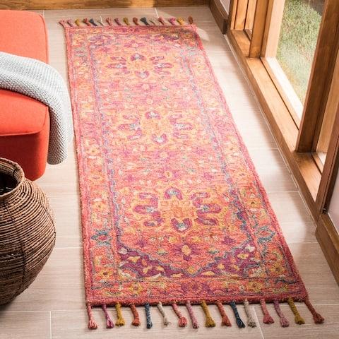Safavieh Handmade Aspen Iona Boho Tribal Wool Rug