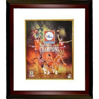 59d78e0f7 Shop Bobby Jones signed Philadelphia 76ers 16x20 Photo Custom Framed  Collage 1983 NBA Champions w 6 Sign - Free Shipping Today - Overstock.com -  19867937
