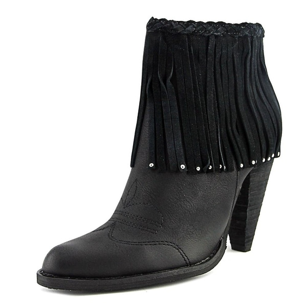Very Volatile Ranch Women Pointed Toe Leather Ankle Boot