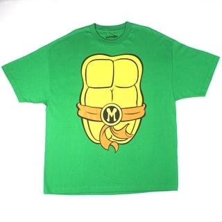 Teenage mutant ninja turtles charcoal tee shirt free for Green turtle t shirts review