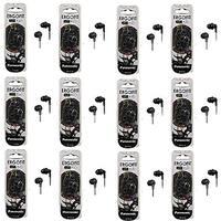 Panasonic ErgoFit In-Ear Earbud Headphones - 12 Pack (Black)