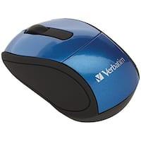 Verbatim 97471 Wireless Mini Travel Mouse (Blue)
