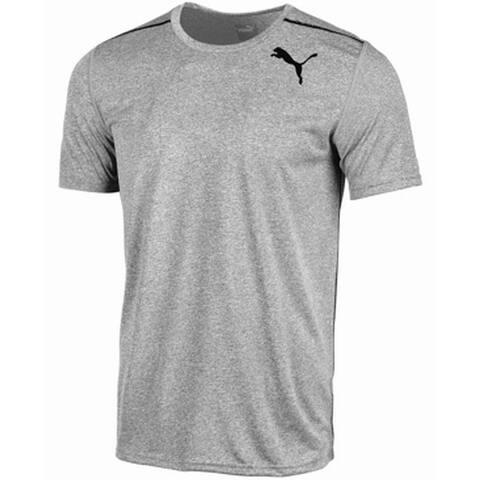a3062dea Puma Heather Gray Mens Size Large L Crewneck Logo Print Tee T-Shirt