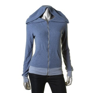 Wildfox Womens Distressed Graphic Hoodie - XS