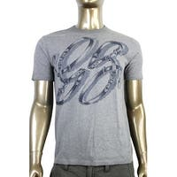 Gucci Men's Cotton Graphic Top Horsebit Belt T Shirt 337660