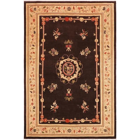 """Bohemien Ziegler Jana Hand Knotted Area Rug -9'10"""" x 13'11"""" - 9 ft. 10 in. X 13 ft. 11 in."""