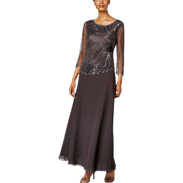 Shop J Kara Womens Formal Dress Beaded A-