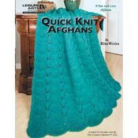 Quick Knit Afghans - Leisure Arts