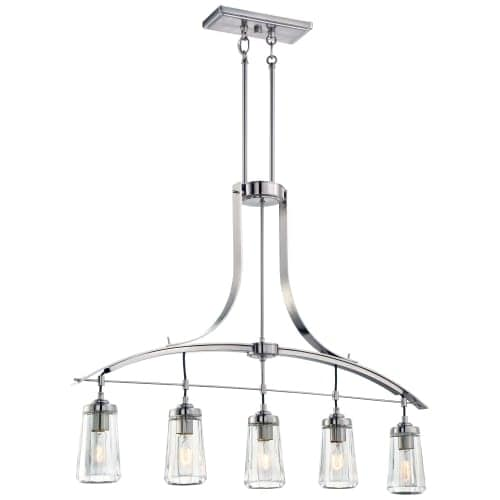 Minka Lavery 3306-84 5 Light One Tier Chandelier from the Poleis Collection