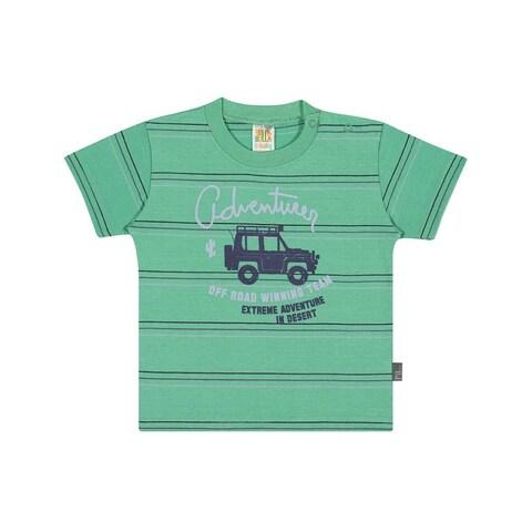 Baby Boy Graphic Tee Striped T-Shirt Pulla Bulla Sizes 3-12 Months