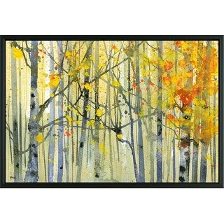 Easy Art Prints Paul Bailey's 'Autumn Birches' Premium Canvas Art