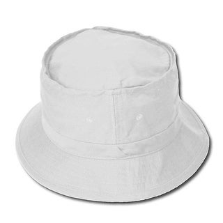 Fishermans Bucket Hat - White L/XL