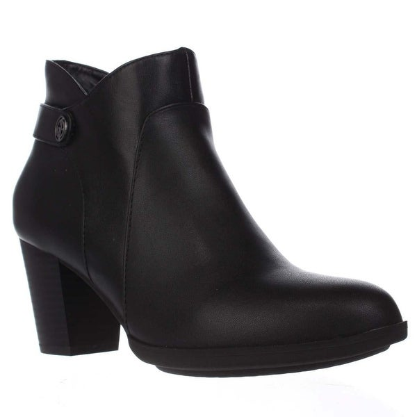 GB35 Abalina Casual Ankle Boots, Black